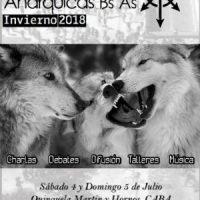 [Argentina] Jornadas Anárquicas de Buenos Aires - Inverno 2018