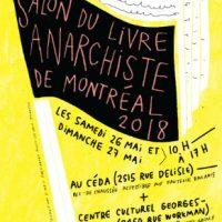 [Canadá] Salão do livro anarquista de Montreal: 26 e 27 de maio