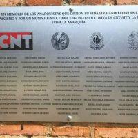 [Espanha] Homenagem aos fuzilados da CNT e libertários em Guadalajara