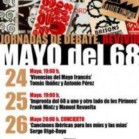 """[Espanha] Jornadas de debate: """"Reviver Maio de 68"""""""