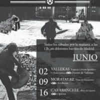[Espanha] Madrid: Toma a rua: Pontos de propaganda anarquista em Junho e crônica de Maio