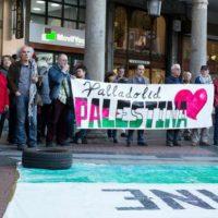 [Espanha] Valladolid, CGT com o povo Palestino, Dia da Nakba