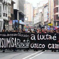 [Galícia] Vídeo: Manifestação contra o desalojo do CSO A Insumisa