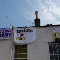 """[Reino Unido] A campanha por Anna Campbell realiza uma ocupação política no centro de Londres: nasce """"Kurdistan Place"""""""