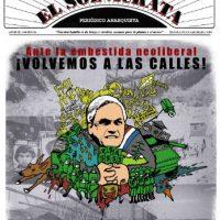 Volta às ruas El Sol Ácrata! Periódico Anarquista desde Antofagasta, Região Chilena