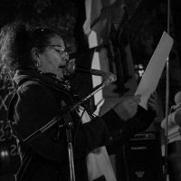[Argentina] Fotorreportagem do ato em memória do anarquista Santiago Maldonado