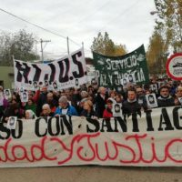 [Argentina] Passeata marca 10 meses da morte de Santiago Maldonado