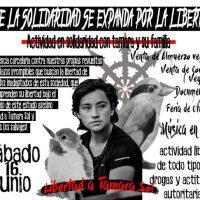 [Chile] Atividade em solidariedade com Tamara Sol e sua família