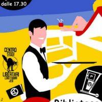 [Itália] Biblioteca Circulante: Abertura de verão 2018 no Centro de Estudos Libertários Luigi Fabbri de Jesi
