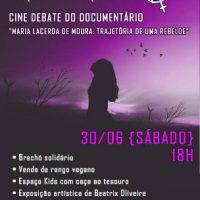 """Na Cinemateca de Santos, neste sábado, lançamento do """"Zine Anarco Feminista Insubmissas"""" e exibição do documentário """"Maria Lacerda de Moura - Trajetória de uma Rebelde"""""""