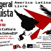 Programação do 4º Fórum Geral Anarquista 2018 – São Paulo – Brasil