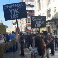[Turquia] A polícia ataca brutalmente os estudantes da LAF em Istambul