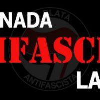 [Argentina] 1ª Jornada Antifascista em La Plata