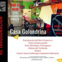 """[Argentina] """"Casa La Golondrinas"""" será reinaugurada neste sábado"""