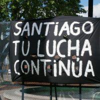 [Argentina] Jornada a 1 ano do Desaparecimento Forçado de Santiago Maldonado