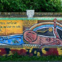 [Argentina] O último mural de Santiago Maldonado será exposto na Faculdade de Bellas Artes