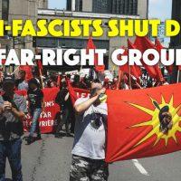 [Canadá] Vídeo: Antifascistas barram grupo de extrema-direita em Montreal