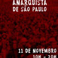 Chamada para criar cartaz da IX Feira Anarquista de São Paulo