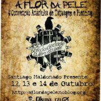 Chamado para a 4ª edição do Solidariedade a Flor de Pele! 12, 13 e 14 de outubro 2018 em Pelotas (RS) Santiago Maldonado Presente!
