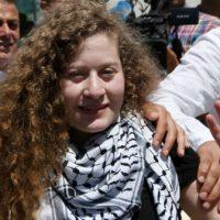 [Cisjordânia] Ahed Tamimi é libertada após cumprir pena de 8 meses de prisão