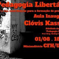 [Florianópolis-SC] Aula Inaugural: A Pedagogia Libertária na UFSC