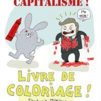 [França] Lançamento: Morte ao capitalismo! Livro de colorir!