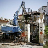 [Grécia] Ginásio ocupado em Exarchia é evacuado e demolido