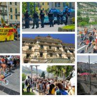 [Itália] 14 de julho sem pátria, manifestação internacional em Ventimiglia