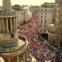 [Reino Unido] Protesto contra Trump reúne mais de 250 mil pessoas nas ruas de Londres