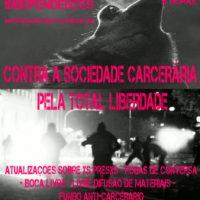 """[São Paulo-SP] Chamado para uma Feira de Materiais Independentes – Atividades da """"sexta semana internacional em solidariedade pelxs anarquistas presxs"""""""