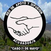 """[Chile] Comunicado público Nº 1 da Rede de Apoio e Difusão Acusados/a """"Caso 21 de Maio"""""""