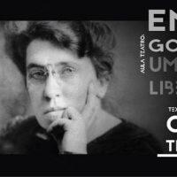 """[São Paulo-SP] """"Emma Goldman, uma vida libertária"""" é atração na Casa de Cultura Vila Guilherme neste domingo (02)"""
