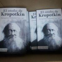 """[Espanha] Lançamento: """"O outono de Kropotkin. Entre guerras e revoluções (1905-1921)"""", de Jordi Maíz Chacón"""
