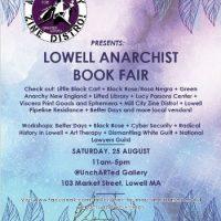 [EUA] Feira do Livro Anarquista de Lowell