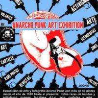 [México] Exposição de Arte Anarco-Punk
