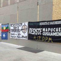 [Itália] Manifestação em memória de Santiago Maldonado