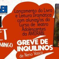 """[Joinville-SC] Lançamento e leitura dramática do livro """"Greve de Inquilinos"""""""
