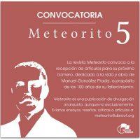 """[Peru] Convocatória para publicação de artigos na revista """"Meteorito 5"""""""