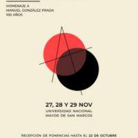 """[Peru] """"I Congresso de Estudos Anarquistas Manuel González Prada"""""""