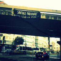 [Porto Alegre-RS] Santiago Maldonado em nossas ações e corações! Quem morre lutando vive em cada companheiro!