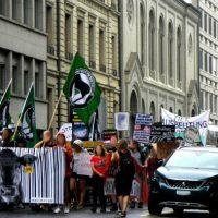 [Suíça] Manifestação pela abolição da criação de animais