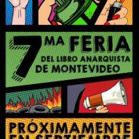 [Uruguai] 7ª Feira do Livro Anarquista de Montevidéu, de 21 a 23 de setembro