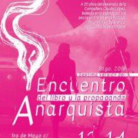 [Chile] Santiago: 7º Encontro do Livro e da Propaganda Anarquista