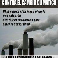 [Espanha] Madrid: Bloco anarquista contra a mudança climática, 8 de setembro