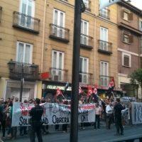 [Espanha] Uma centena de pessoas se concentrou contra a sentença do Não Caso