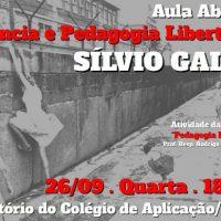 """[Florianópolis-SC] Aula Aberta: """"Infância e Pedagogia Libertária"""" com Silvio Gallo"""