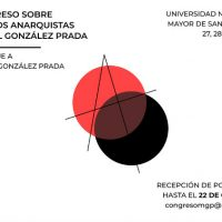 [Peru] I Congresso de Estudos Anarquistas Manuel González Prada