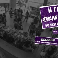 Vem aí a II Feira Anarquista do Distrito Federal