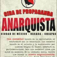 Anarquistas chilenos iniciam tour de Propaganda Anarquista pelo México