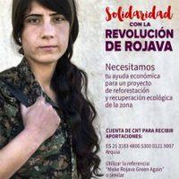 [Espanha] Apresentação da Campanha de Apoio a Rojava